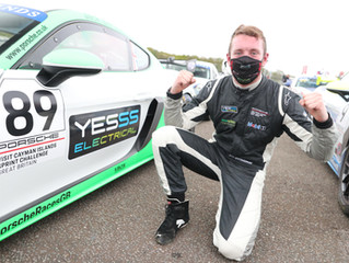 Jack Bartholomew Secures Maiden Porsche Sprint Challenge GB Victory at Brands Hatch