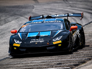 REMARKABLE DRIVE FROM LAMBORGHINI RACER MIDDLETON SEALS FOURTH OUTRIGHT PODIUM OF AMERICAN SEASON