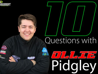 10 Questions with Ollie Pidgley