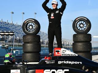 Aidan Yoder Wins Yacademy F4 Winter Series