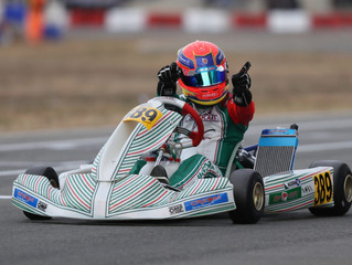 Macdonald wins IAME Winter Cup