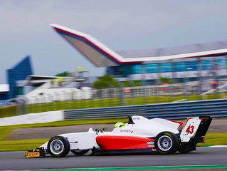 Double Points Finish for Grundtvig at Silverstone