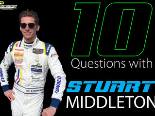 10 Questions with Stuart Middleton