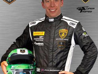 FFF Racing welcomes Jack Bartholomew to Lamborghini Super Trofeo ranks