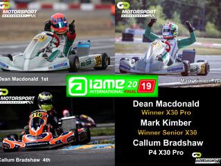 Go Motorsport Management Drivers Dominate IAME International Final