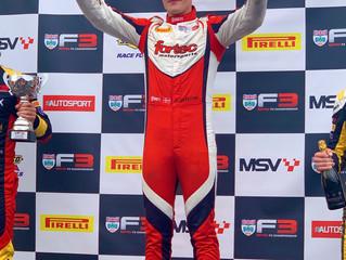 Maiden F3 Win for Grundtvig at Donington Park