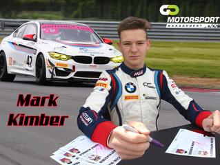 Mark Kimber signs with Go Motorsport Management