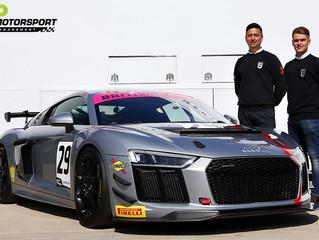 Sennan Fielding returns to the British GT Championship with Stella Performance Audi