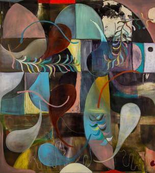 Euphoria, 2020, Oil on canvas, 200 x 180 cm