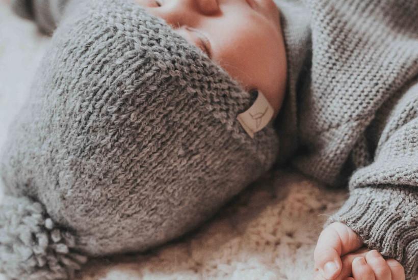 wollen babykleding wollen babymutsje, sc