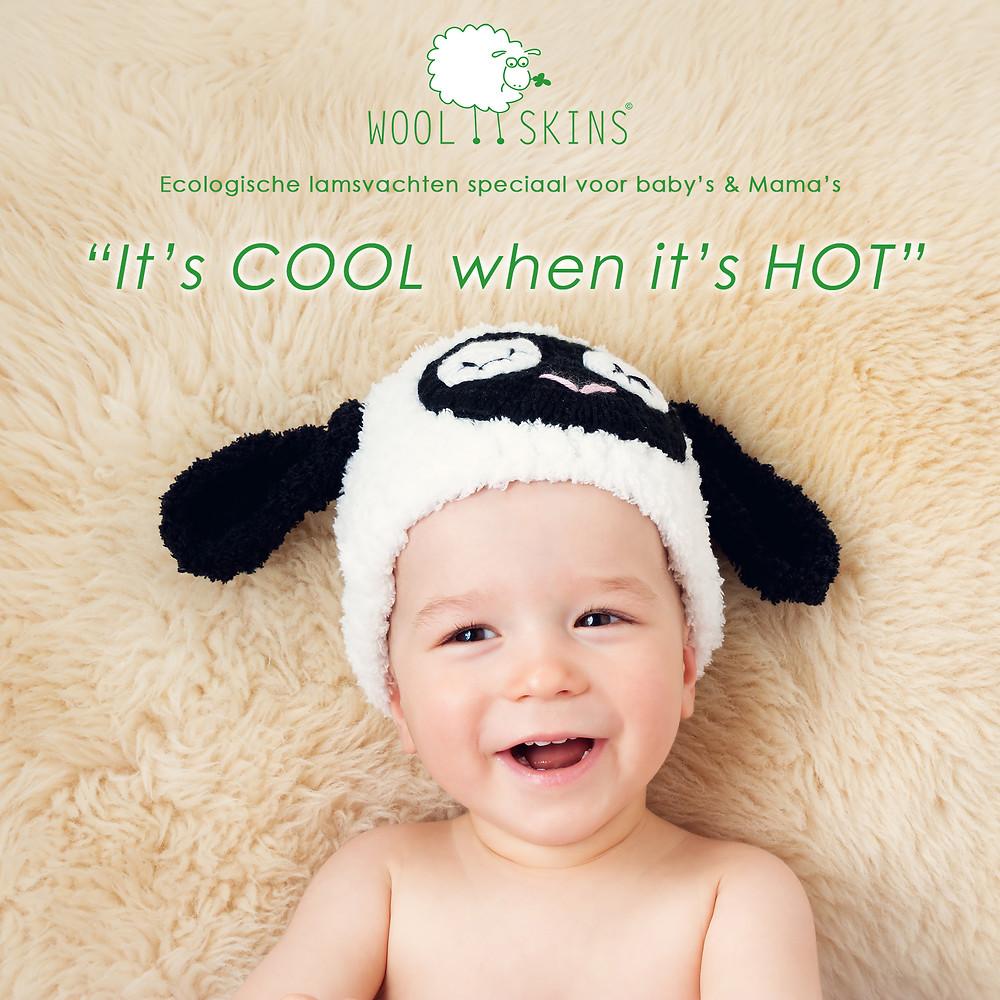 baby lamsvacht schapenvacht gezond ecologisch