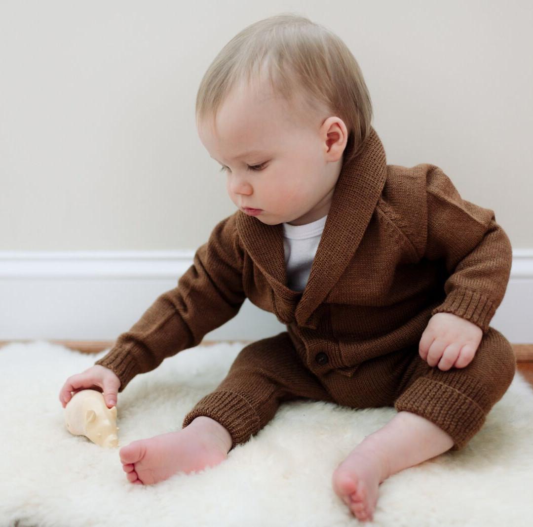 Alpaca wol babykleding