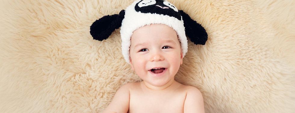 Schapenvacht voor Baby Woolskins