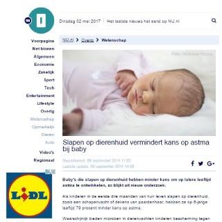Schapenvacht baby gezond? Lees hier meer....