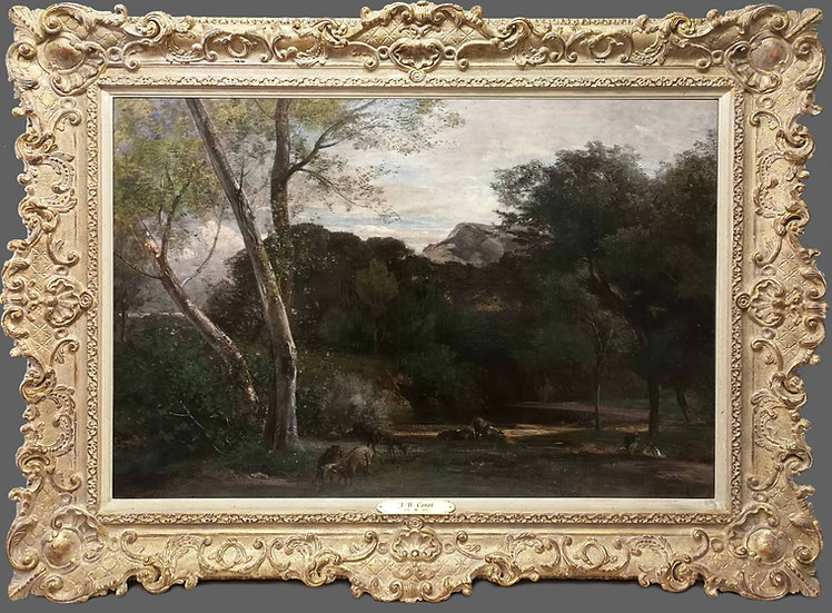 Camille Jean-Baptiste Corot (Attributed)