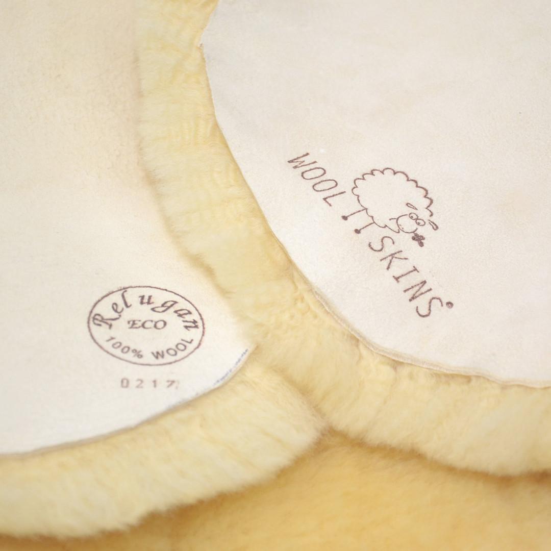Woolskins lamsvacht gezond voor je baby