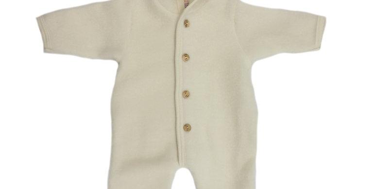Overall Baby 100% Merino Wolfleece | Ecru