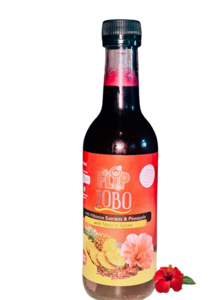 Hibiscus and Pineapple Zobo Drink