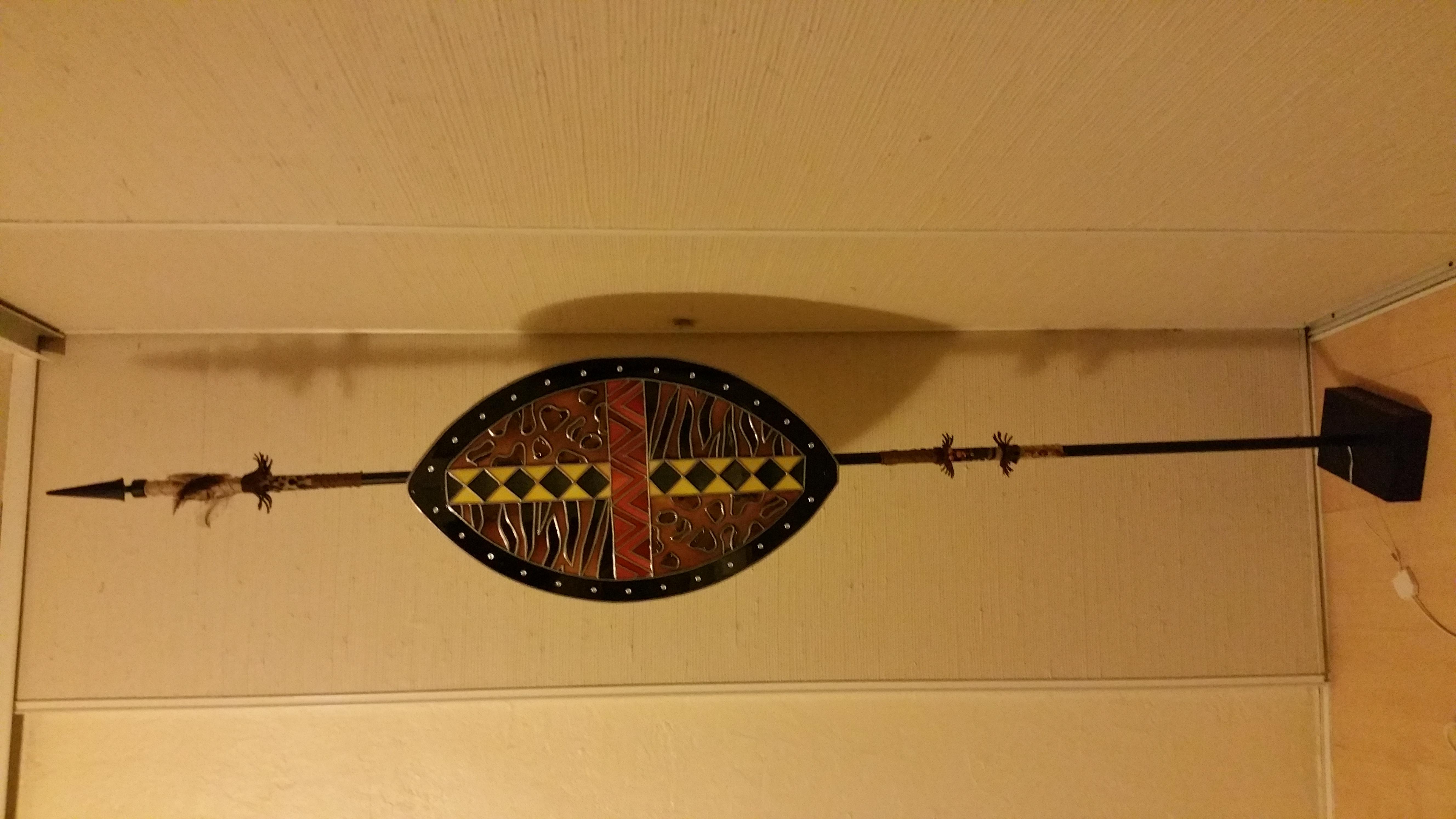 Bouclier Massaï