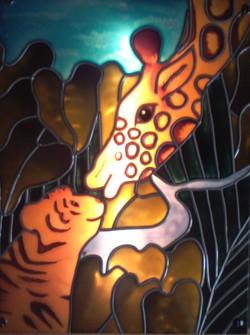 Girafe et Tigreau