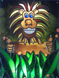 Lion bienvenue