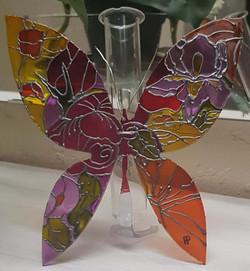 Papillon printemps soliflore