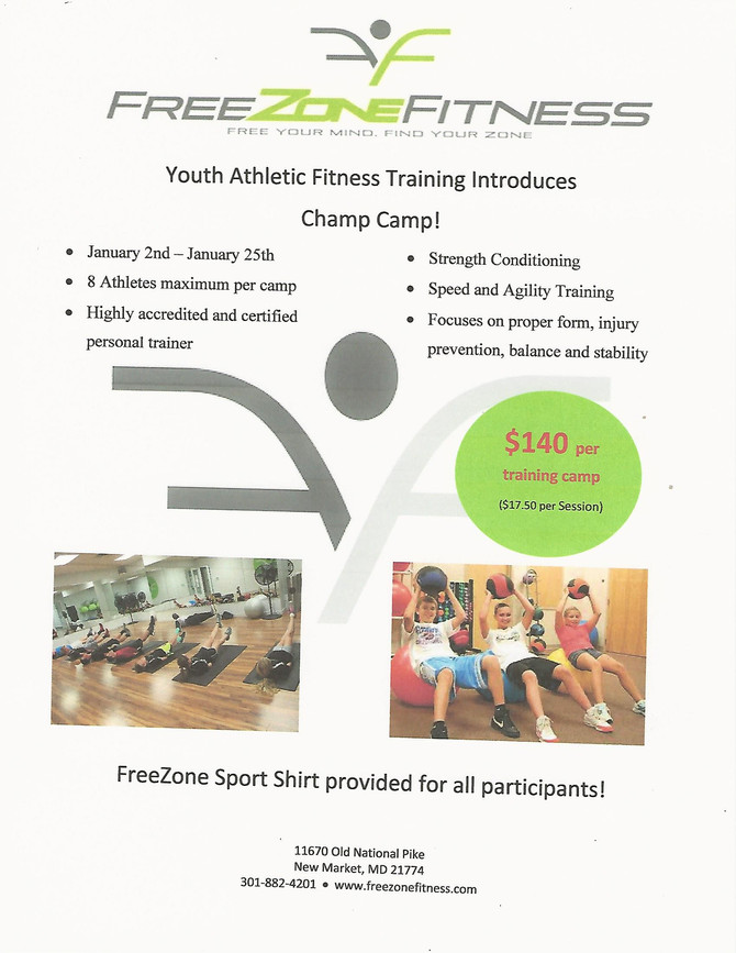 Sign up for Youth Training!