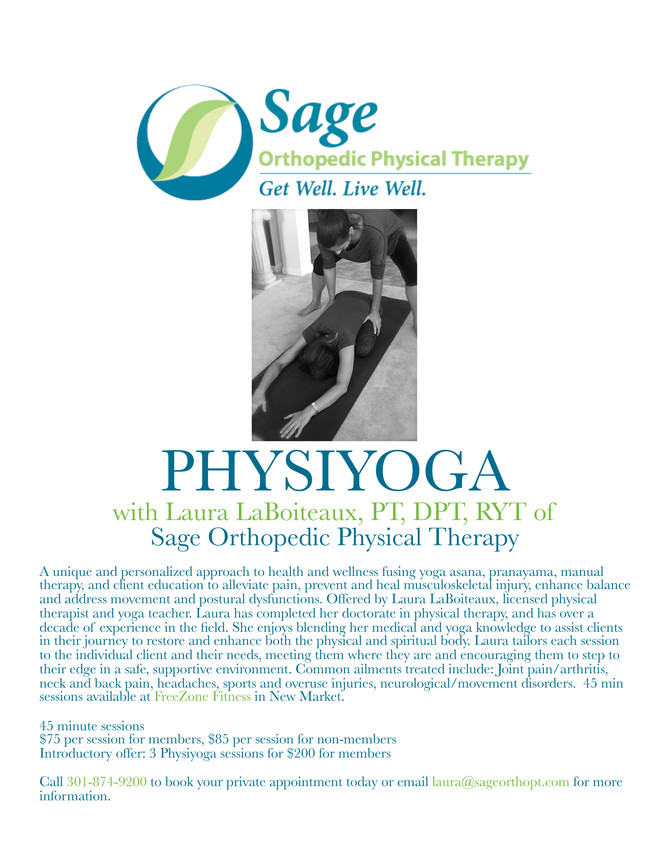 Now Offering Physiyoga!
