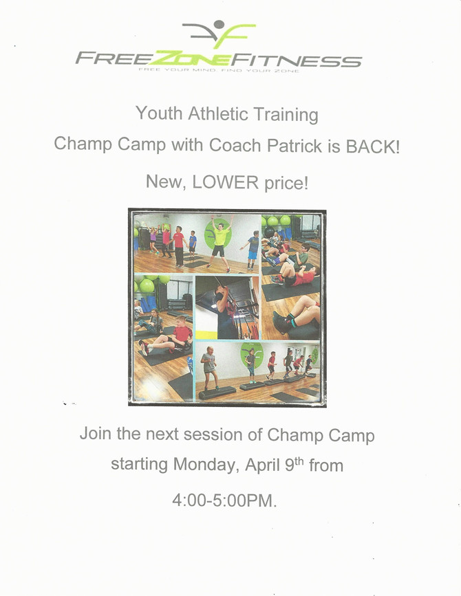 Champ Camp is back!