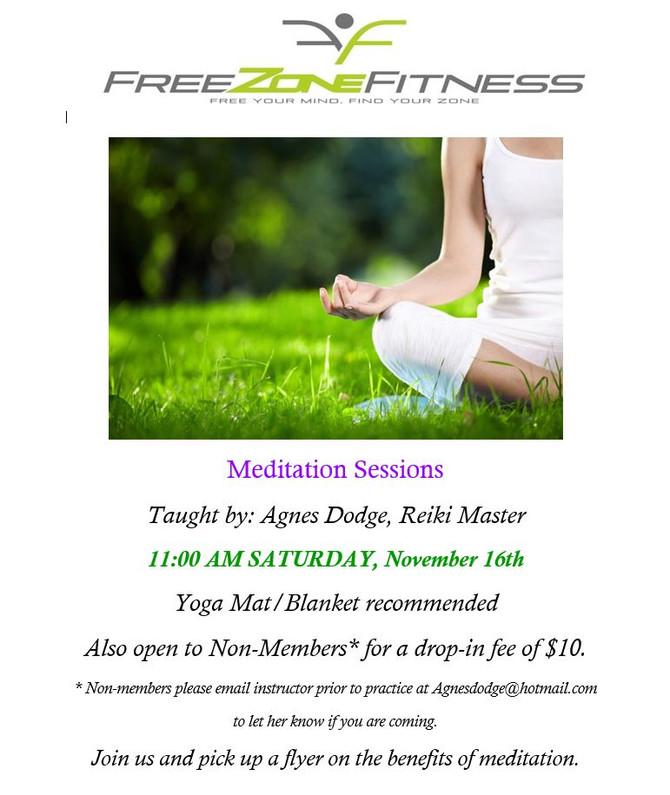 November Meditation!