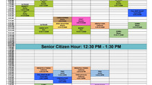 NEW updated blended schedule