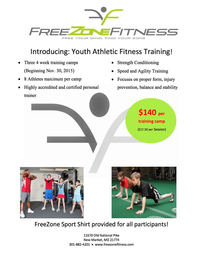 Youth Athletic Fitness Training