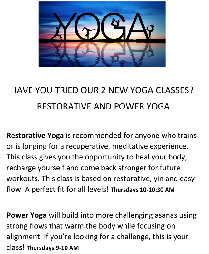 Want More Yoga?