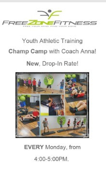 GET YOUR KIDS OFF THE GAME SYSTEM AND PHYSICALLY FIT THIS SUMMER!