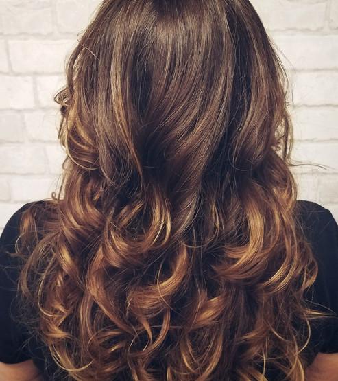 Long Hair Cutting