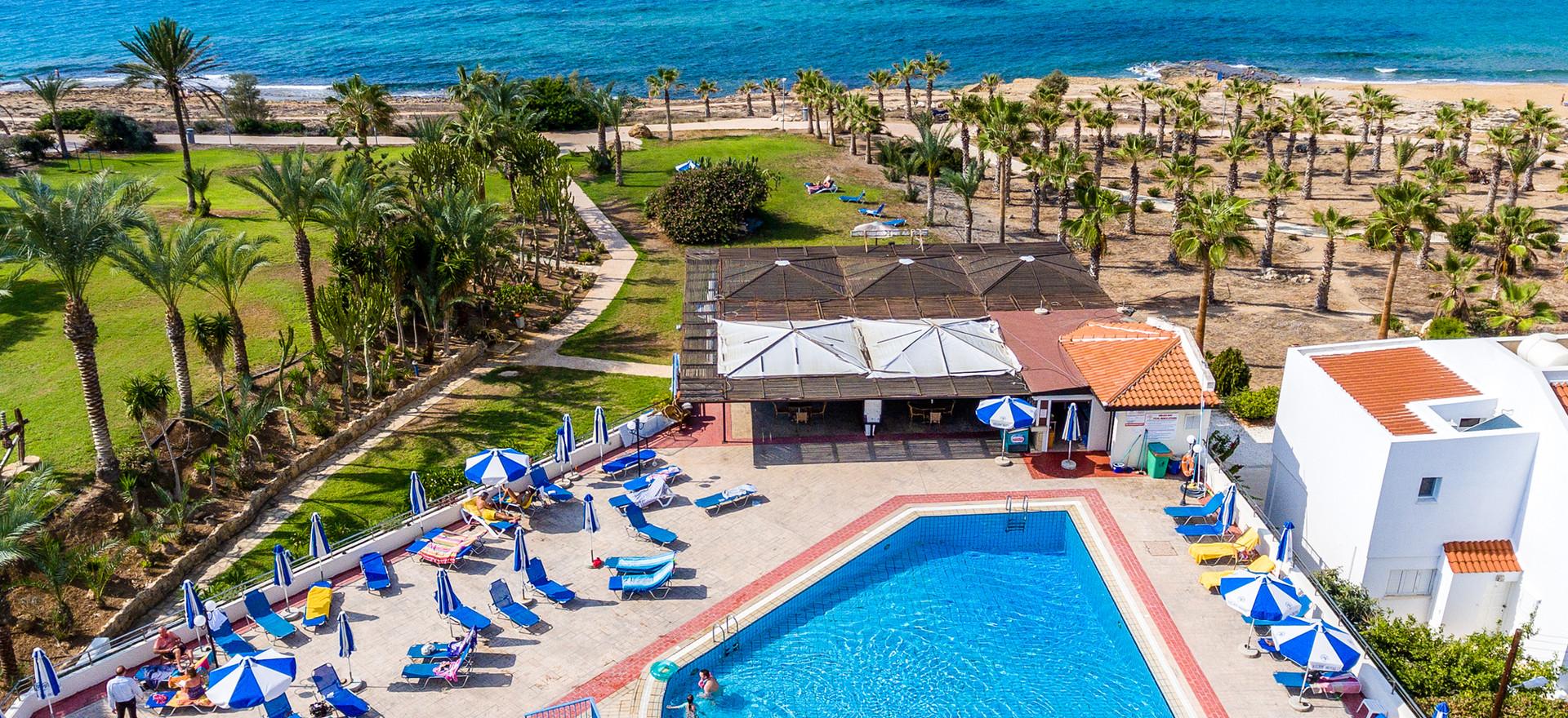 Aerial swimming pool