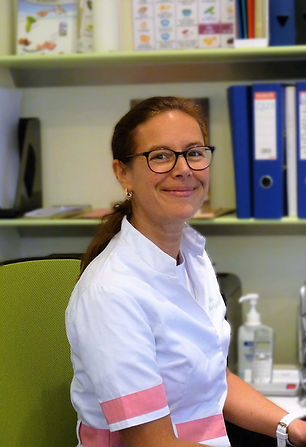 Celine Oosterlynck: dieteticienne, nutritionniste