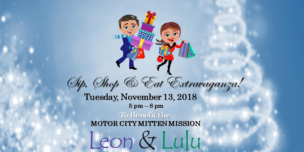 Sip, Shop & Eat Extravaganza to Benefit MCMM