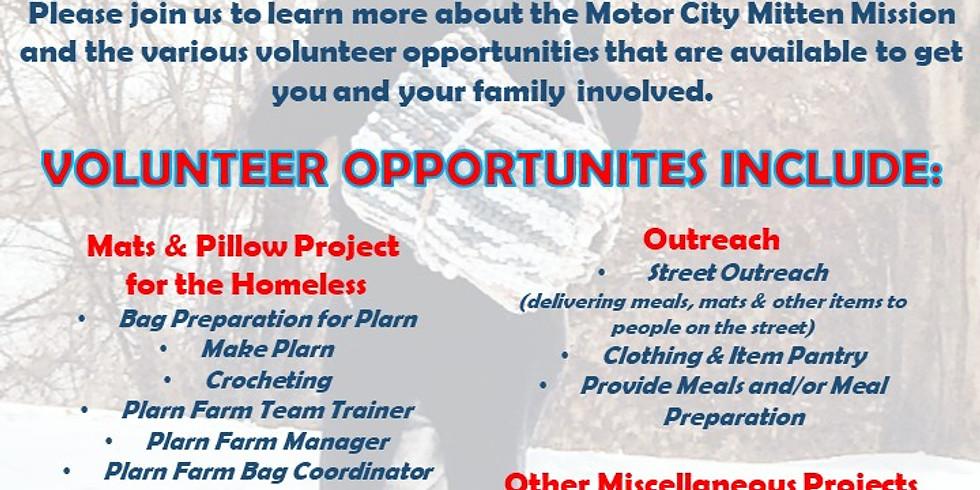 MCMM Volunteer Meeting