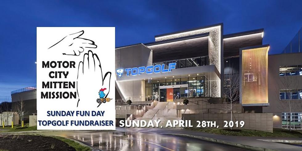 Motor City Mitten Mission Sunday Fun Day TOPGOLF Fundraiser