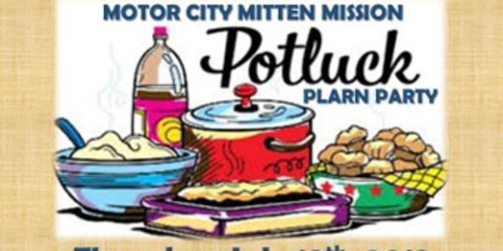 First St. Clare Plarn Farm Potluck Party