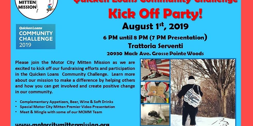 MCMM Quicken Loans Community Challenge Kick Off Party