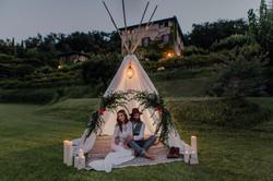 Tippi Zelt. Wedding Gardasee