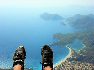 Paragliding Ölü Deniz Dragon Pirate Boat Trip Ölü Deniz Turkey