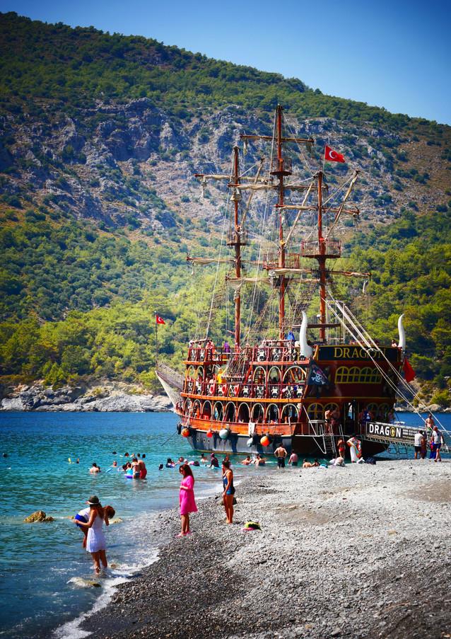 PIRATE BOAT TRIP Dragon Pirate Boat Trip Ölü Deniz Turkey