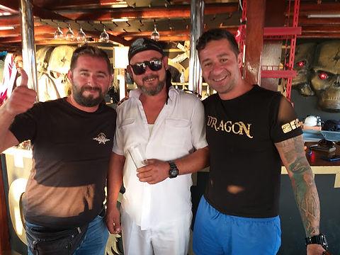 Turhan, Captain Emre and Ümit