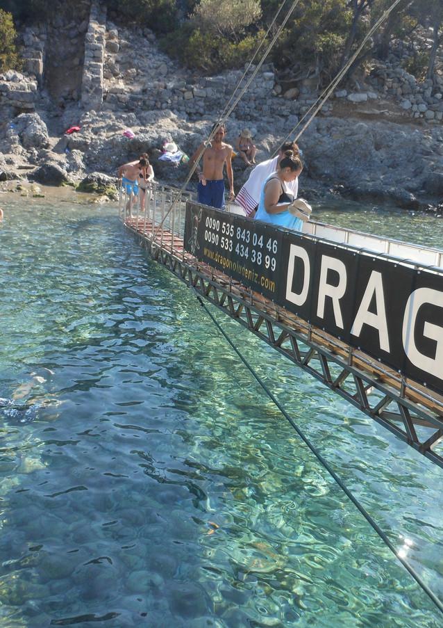 GANGPLANK Dragon Pirate Boat Trip Ölü Deniz Turkey