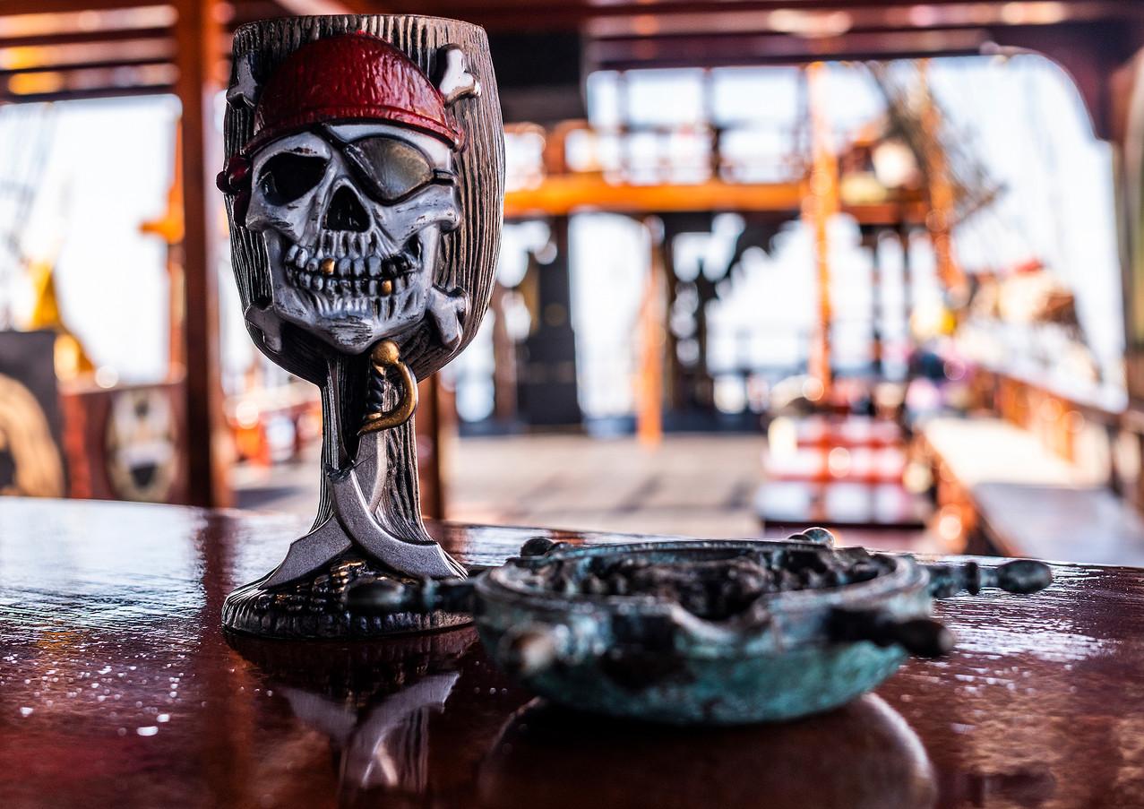 RUM Dragon Pirate Boat Trip Ölü Deniz Turkey