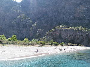 Butterfly Valley Dragon Pirate Boat Trip Ölü Deniz Turkey