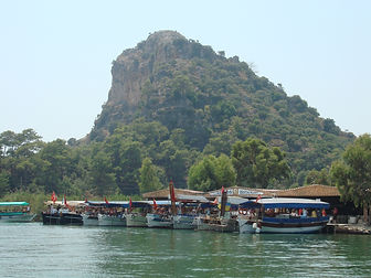 Dalyan Delta Boat Trip Dragon Pirate Boat Trip Ölü Deniz Turkey